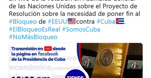 #ElBloqueoEsReal