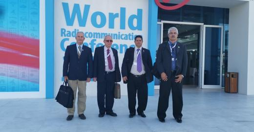 Delegación Cubana en la Cumbre Mundial de Radiocomunicaciones CMR19, Egipto