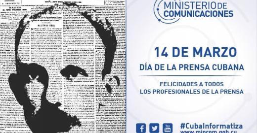 Feliz Día de la Prensa Cubana