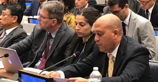 Cuba interviene en el Grupo de trabajo de la ONU