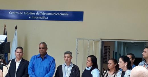 Inauguración oficial del Centro de Estudios de Telecomunicaciones e Informática en la CUJAE