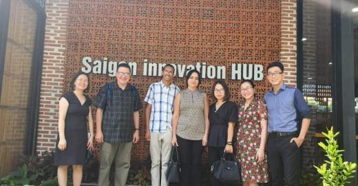 Visita al Saigon innovation HUB en ciudad Ho Chi Minh