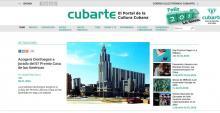 Plataforma de gestión integral de la Información Cultural Portal Cubarte