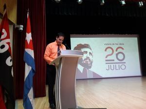 Acto Político Cultural dedicado al Día de la Rebeldía Nacional